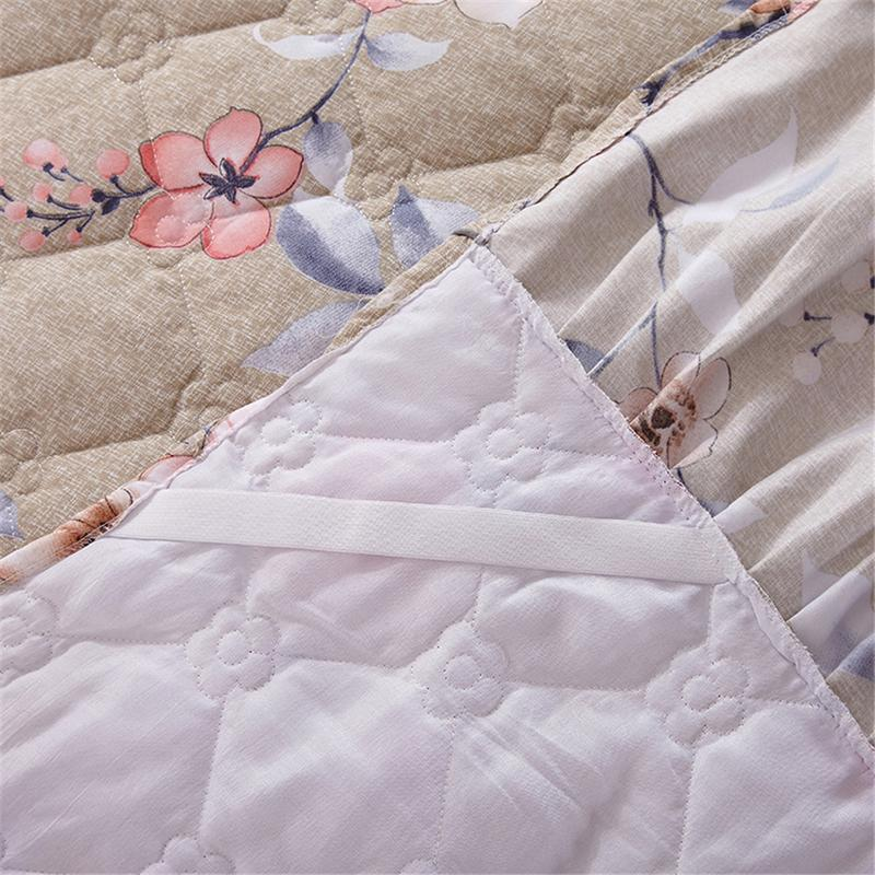 Funda Nordica King Size.150 200cm Cotton Bed Cover Thickened Lace Bed Skirt Bed Spread Funda Nordica Cama 150 Fast Shipping